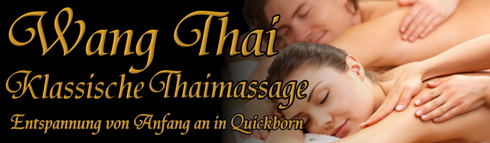Wang Thai Massage Quickborn